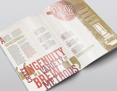 Magazine Feature double spread