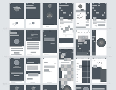 "Low fidelity wireframes for ""YOUNEEDIT"""