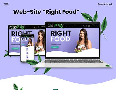 UX/UI. Online store website