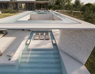 Kilada Spiral villa in Greece by Omniview Design