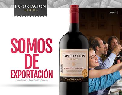Concha y Toro :: Exportacion website