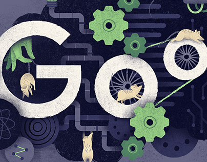 Google Doodle | World Day for Laboratory Animals