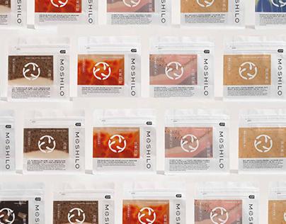 MOSHILO handmade soap   Branding design