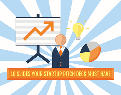 Startup Pitch Deck - Infographic