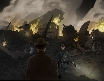 Concept Art for Mindscape Short Movie