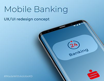 Mobile Banking App UI Concept