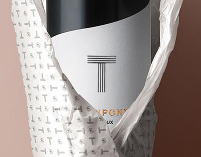 T de Thienpont / Vins Fins - Branding Identity