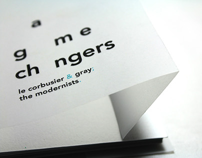 Game Changers: LeCorbusier & Gray