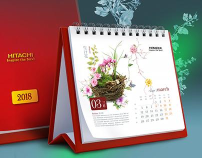 Hitachi Vantara Calendar 2018