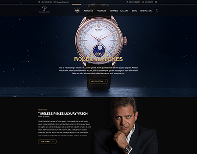 Timeless Pieces Luxury Watch