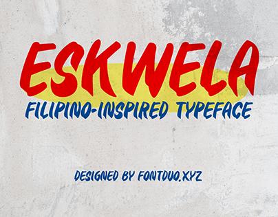 Eskwela Free Brush Script Font