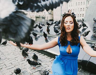 Dresses by Mila Yurakova