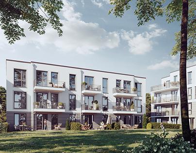 Apartment house in Hamburg
