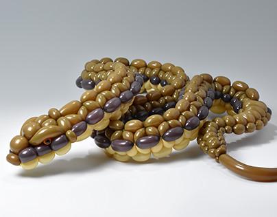 snake (balloon art)