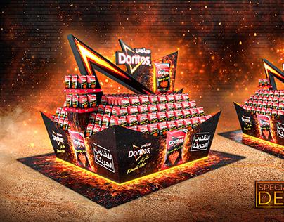 Product display design for Doritos   POSM