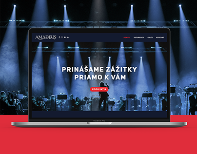 Agentura Amadeus Website
