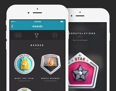 Sports App Badges