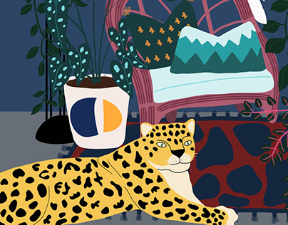 Pet Jaguar - Digital Illustration
