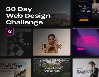 30 Day Web Design Challenge