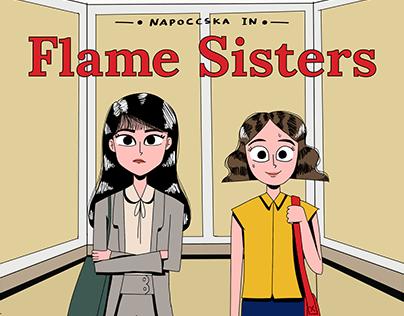Flame Sisters: Serial Komik Strip