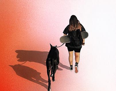 Illustration - Girl's Best Friend