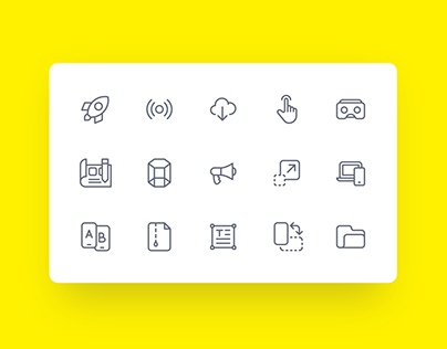 Zwicon - Carefully designed collection of icons