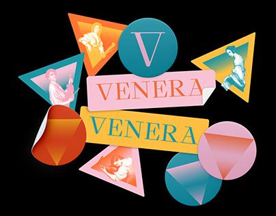 Identity for Venera Female Music Festival