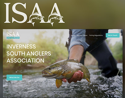 Inverness South Anglers Association Logo & Website