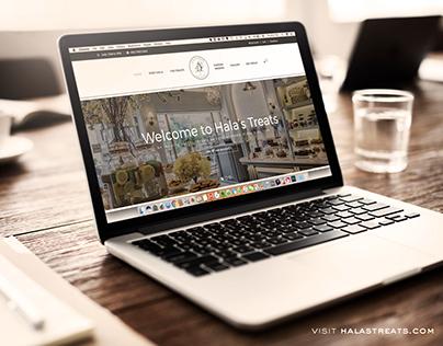 Hala's Treats Website
