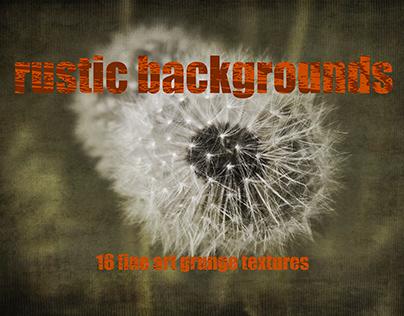 Rustic Bankgrounds - Grunge Textures