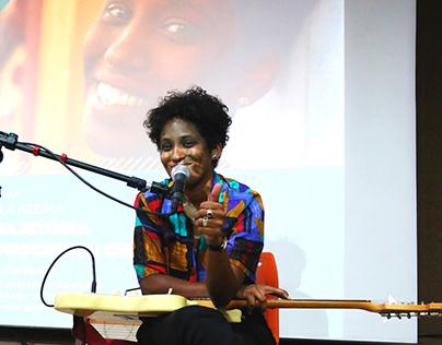 Aula aberta - Cantora, compositora, produtora Mahmundi.