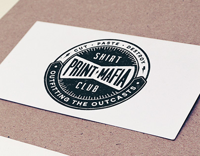 Print Mafia Shirt Club Logo