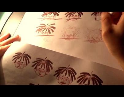 """""""Quma y las Bestias"""" Character Designs"""