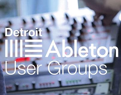 Detroit Ableton User Group