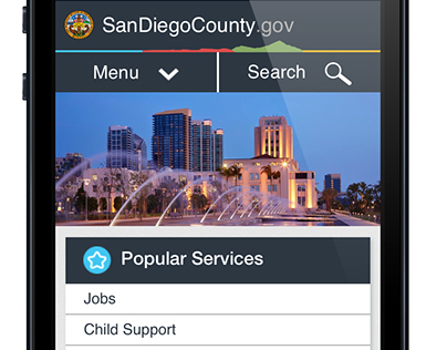 SanDiegoCounty.gov Responsive Design