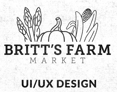 Britts Farm Website Design