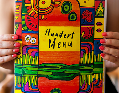 New menu for event-cafe Hundertwasser