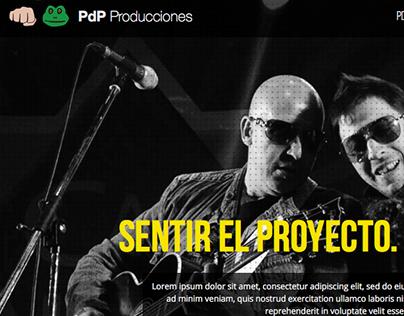 Web Design - PDP Producciones