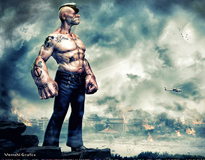 2nd Look Of Popeye Movie Poster On Behance