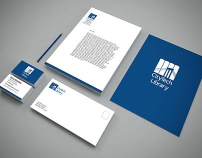 City Tech Library Logo