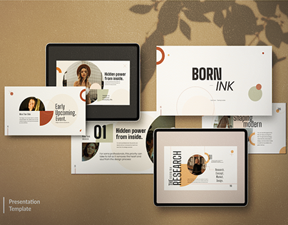 BORN-INK - FREE PRESENTATION TEMPLATE