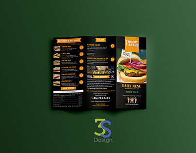 Café Menu Redesign