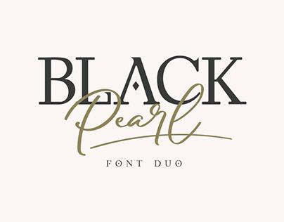 Black Pearl - Font Duo