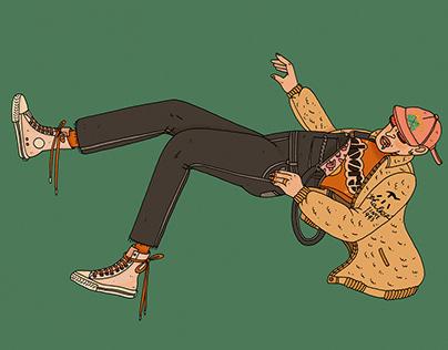 I'm falling for you, Skateboarding!