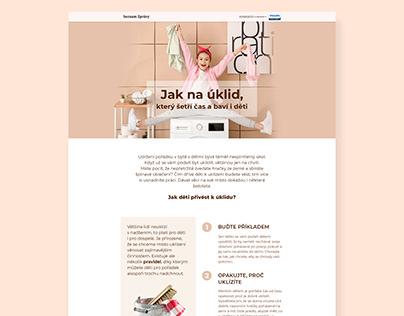 Website design for Seznam Native - various clients