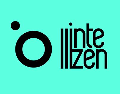 intellizen.gr | logo, branding & web design