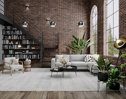 Redesign Of Loft Apartment, Montreal, Canada