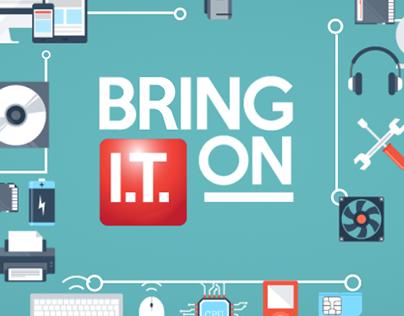 Belfast Met - Bring IT On - Logo Animation