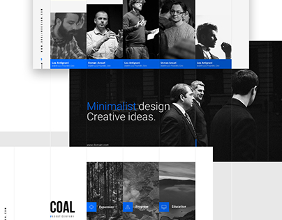 Grids_Minimal Presentation Template