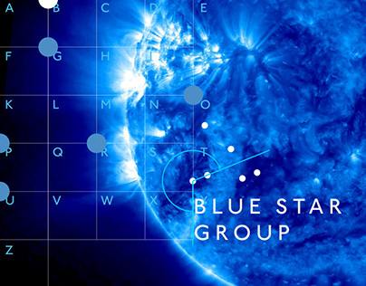 Corporate Design BLUE STAR GROUP